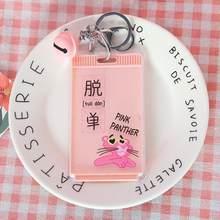 1 шт., мультяшная кошка, Розовая пантера, кролик, луна, колокольчик, акриловая автобусная карта, Студенческая ID-карта, держатель для карт метр...(Китай)
