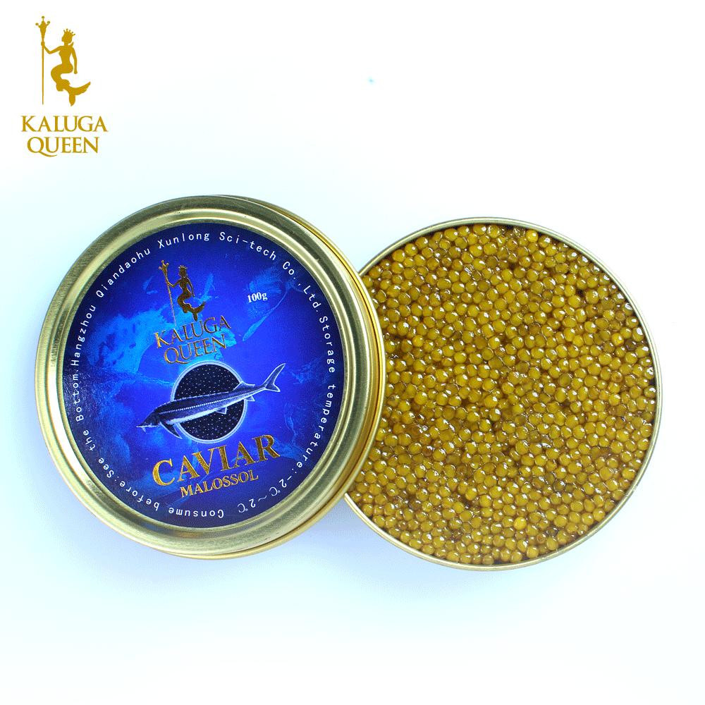 Высококачественный крем KalugaQueen, гибридная Икра осетриума, золотая