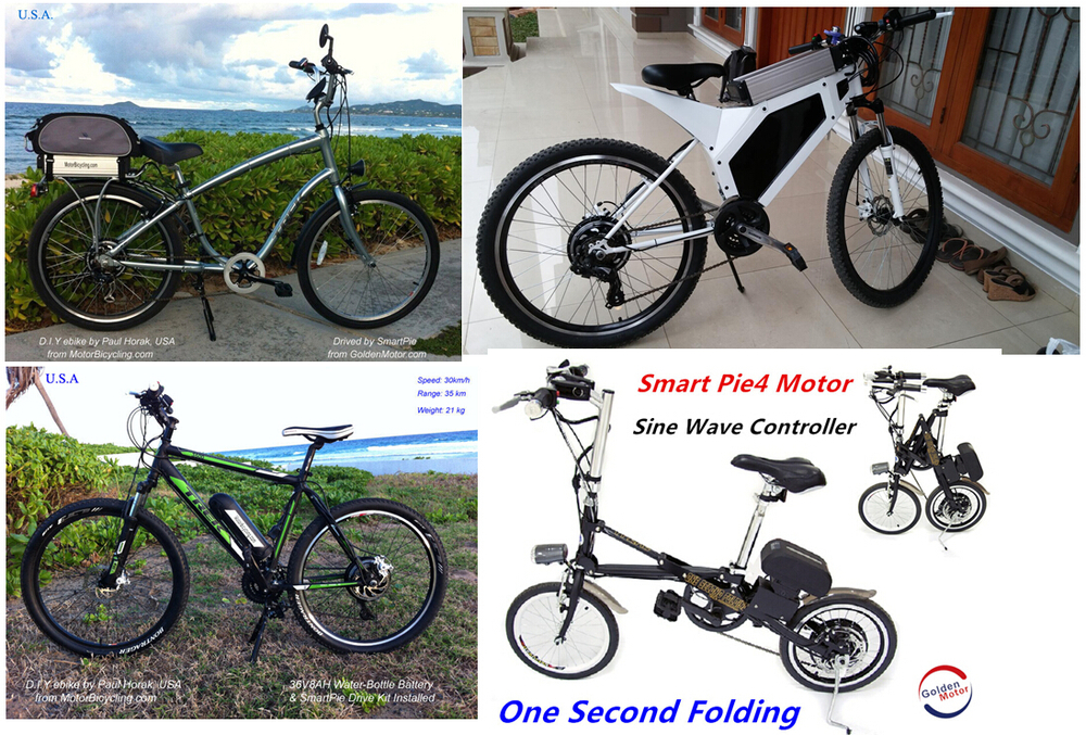 New Sine Wave control, Smart Pie 5 250W-500W electric bicycle motor with app, built-in programmable controller PLN 17209