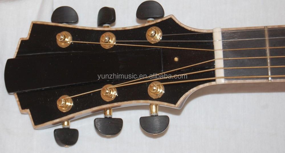 16inch Handmade Mahogany Wood Yunzhi Hollow Body Archtop