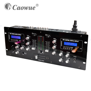 Factory direct sales 2 channel audio mixer mini sound mixer with usb