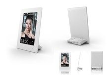 2014 New 6 inch Vertical Hi-definition Digital Photo Frame with Clock & Calendar function, Ligit Sensor, Gift