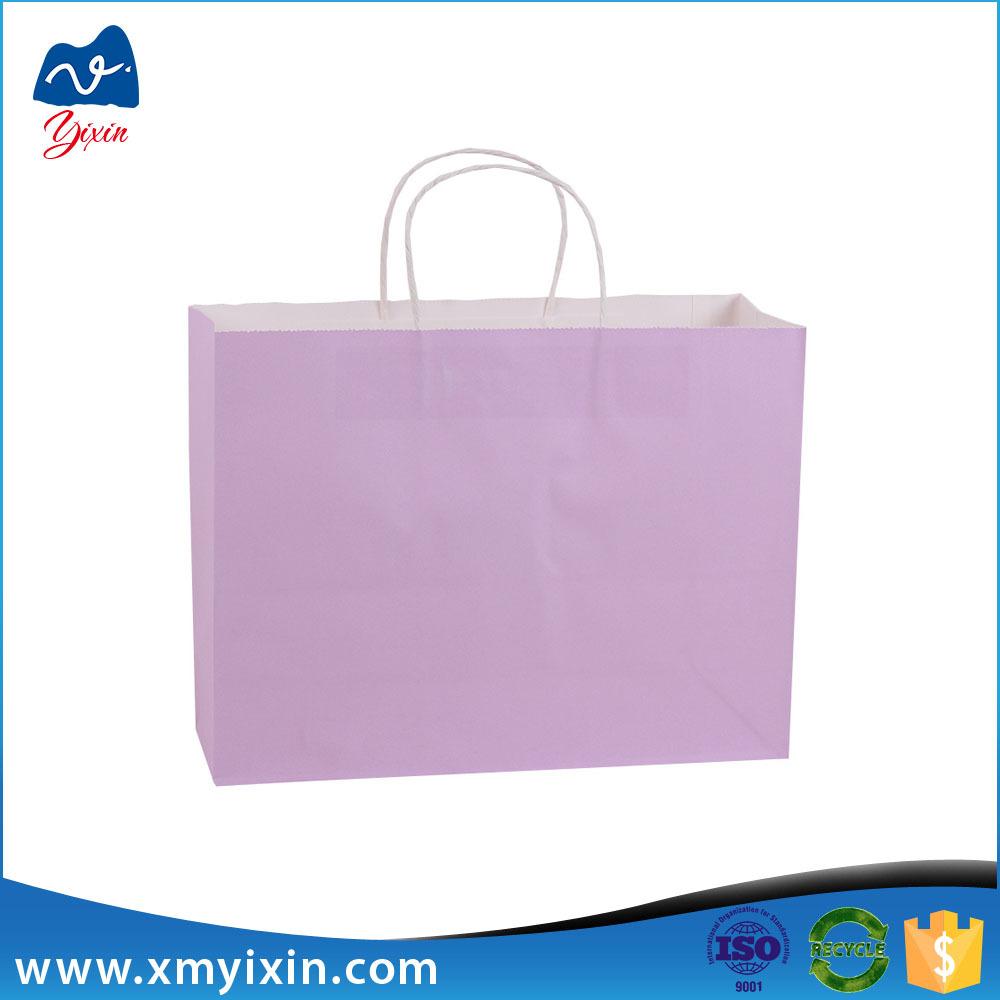 cheap custom paper shopping bags