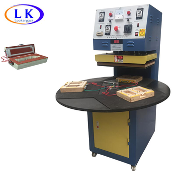 Credit card usb flash drive blister packing machine