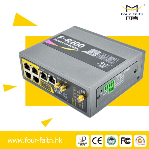 F-R200 Four-Faith industrial GPRS/3G/4G/LTE router vpn 3g industrial router