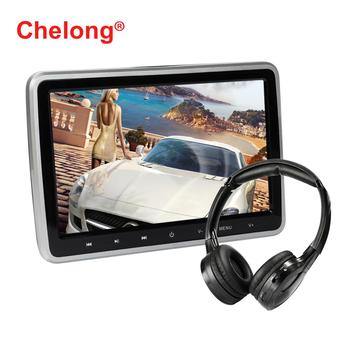 10.1-inch Car Headrest DVD with Touch the Button Support Radio/ TF Card / Multinational languages/Wifi/USB