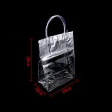 New 2018 Hot Summer Autumn Transparent Shoulder Handbag Bag for Women Trend Fashion  Tote Jelly Fashion 382aae26006fb