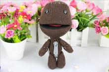 2016 Free shipping Foreign trade of the original single sackboy Plush toy doll Movies TV