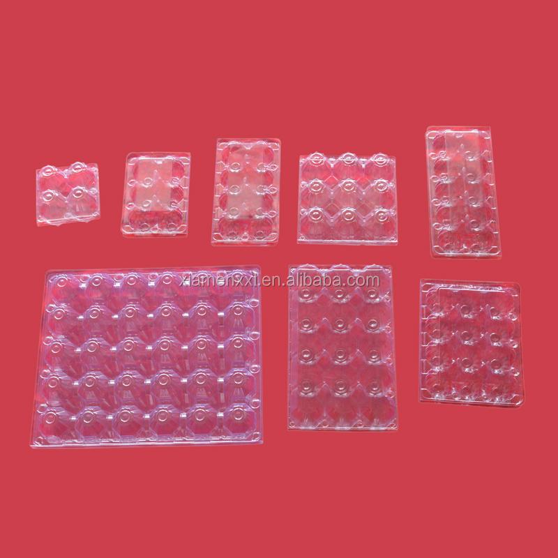30 ячеек, отверстия, упаковка яиц, ПВХ ПЭТ пластиковые блистерные термоформовочные вакуумные упаковочные лотки
