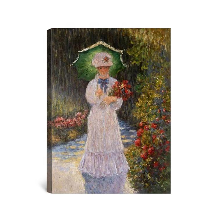 En Gros Reproduction D Antiquites Monet Peinture A L Huile De Chapeau Femme Avec Un Parasol Buy Chapeau Femme Peinture A L Huile Reproduction En Gros Antiquites Peinture A L Huile Monet Product On Alibaba Com
