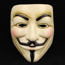 1 PCS venda quente do partido máscaras V for Vendetta máscara anônimo Guy Fawkes Fancy Dress Costume Adult acessório partido máscaras Cosplay