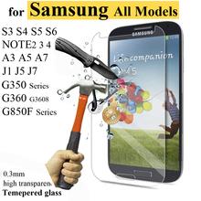 Ultra tenké 0,3 mm ochranné tvrzené sklo pro Samsung Galaxy
