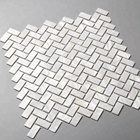 Tile Mother Of Pearl Shell Mosaic Tile Price Hot-sale Natural White Herringbone Mosaic Tile Mother Of Pearl Shell