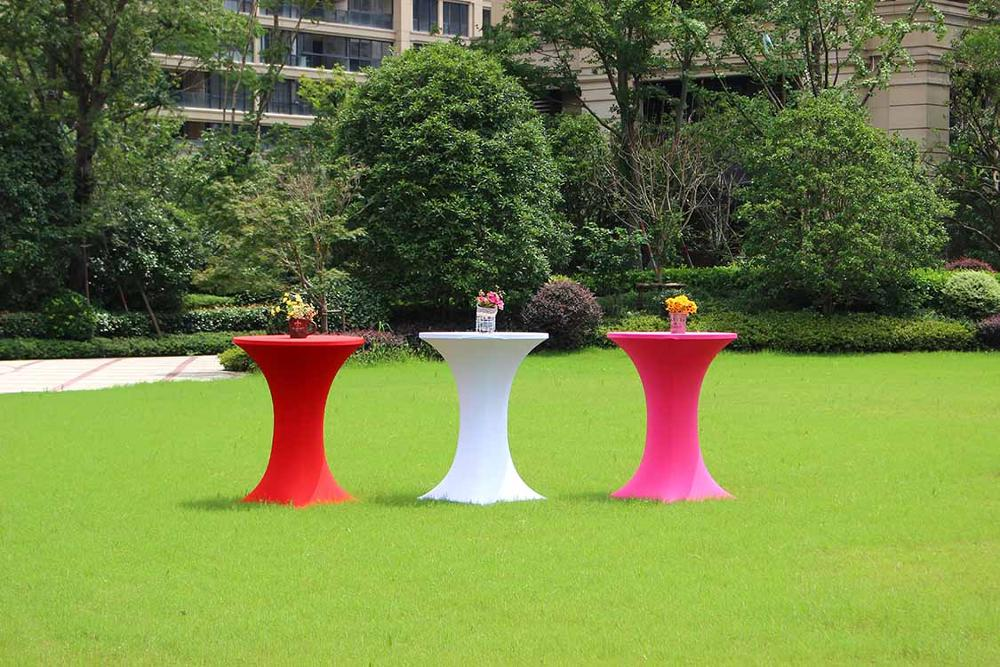 wholesale price outdoor use round cocktail bar table