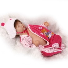 About 55CM Popular NPK Dolls Silicone Reborn Baby Dolls With Baby Clothes Boneca Lifelike Adorable Newborn Baby Dolls For Sale
