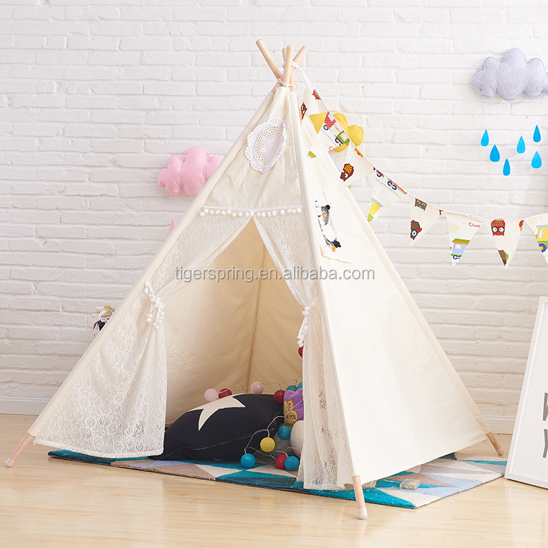 Children play house tent for Kids play tent wigwam Tipi Tepee