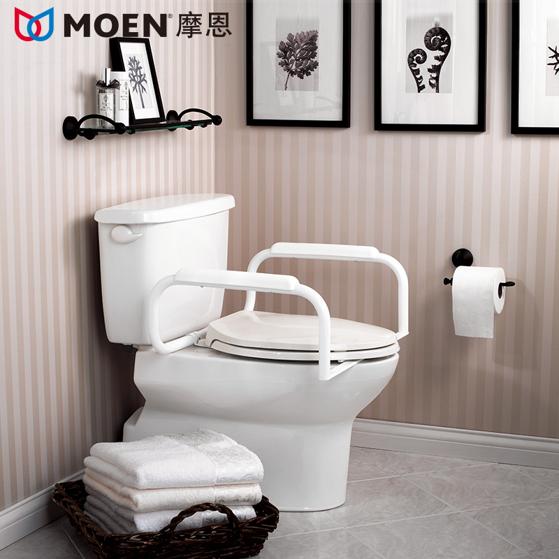 Toilet toilet bathroom grab bars safety bars skid firm - Grab bars for toilet in bathrooms ...