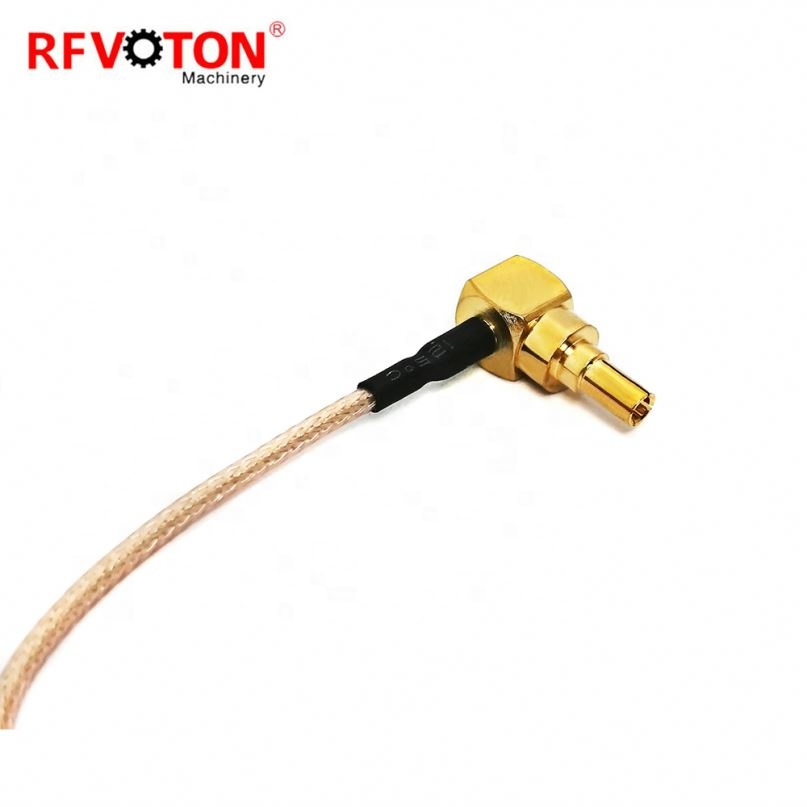 10 см rg178 crc9 штекер-гнездо sma отрезок кабель RG178