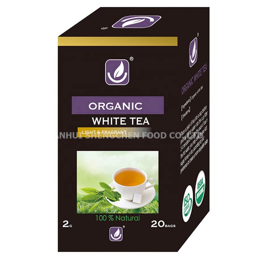 Silver Needle 20 Teabags Per Box Quality Organic White Tea - 4uTea | 4uTea.com