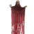 200cm Red Clothes Decoration Halloween Creepy Hanging Skeleton with Led Light