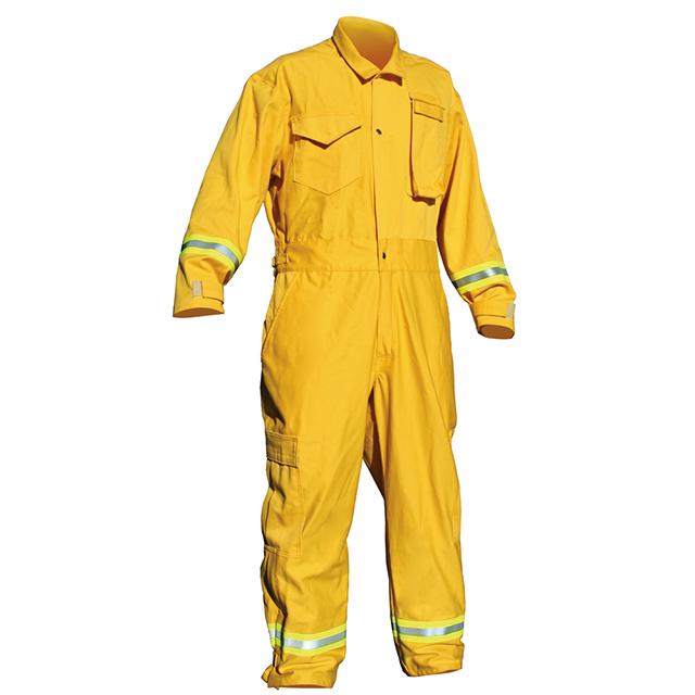 Пожарный костюм от производителя, 6 унций, одежда для противопожарной безопасности Wildland с серебряным желтым и серебряным отражателем