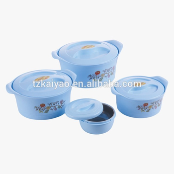 stainless steel hotpot food warmer Insulate food tiffin storage 4pcs food server set