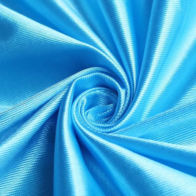 Оптовая продажа, Ослепительная трикотажная ткань из 100% полиэстера для спортивной одежды