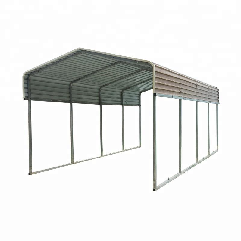 Hot Dip Galvanized Metal Carport And High Snow Load Carport Buy Aluminum Carport Metal Carport And High Snow Load Carport Sheet Metal Carport Product On Alibaba Com