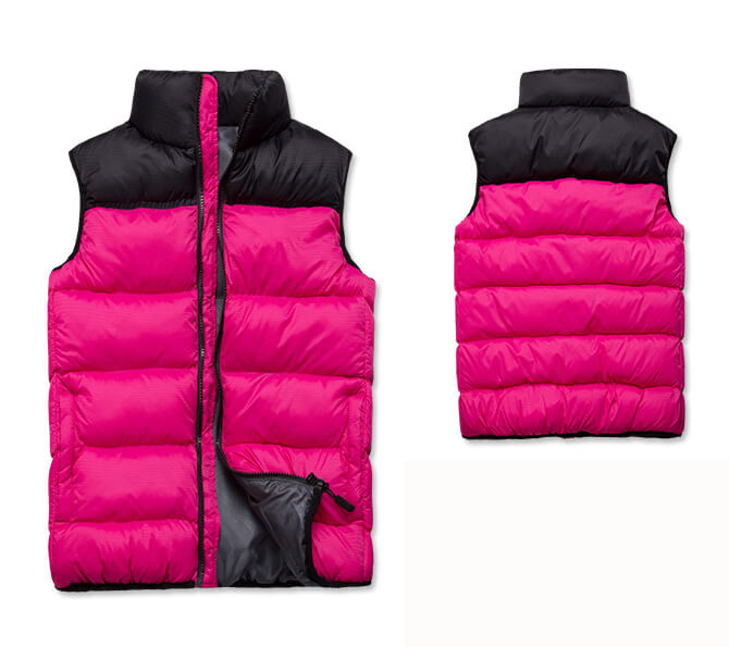 Women Ultralight Cotton Padded Vest For Winter Outdoor Sports