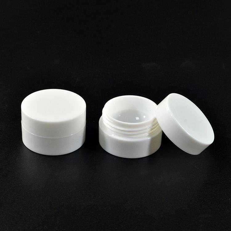 5g 10g 15g 20g 30g 50g 100g 120g 150g 250g Cosmetic clear white pet plastic cream jar with screw lids wholesales