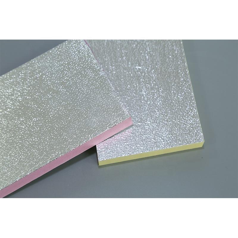 Двухсторонняя алюминиевая фольга XPS изоляционная плита воздуховод XPS экструдированная доска