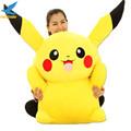 Fancytrader Large 120cm Super Stuffed Giant Pikachu Plush Toy Huge Pokemon Pikachu Doll Pillow Good Present