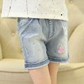 High quality cute children baby cheap mid rise sexy micro mini jean denim shorts for girls