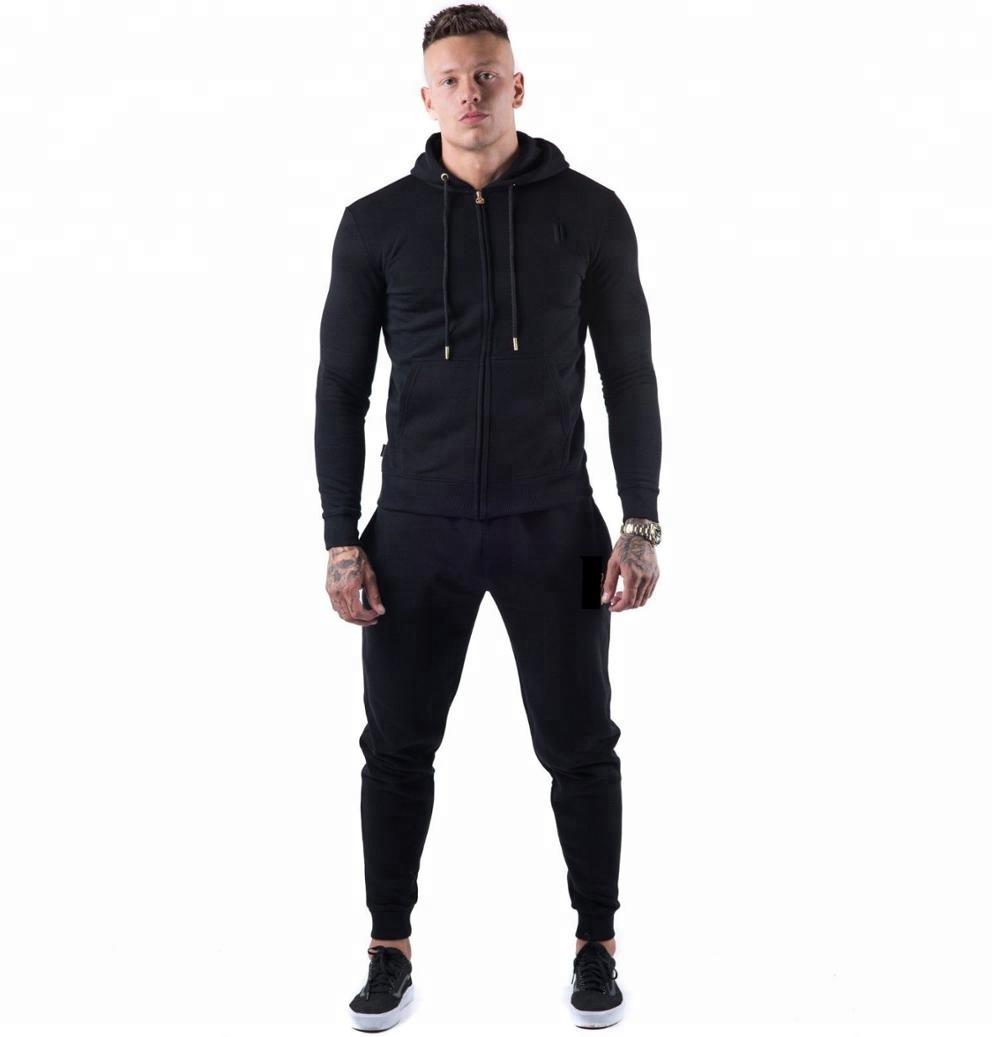 Terno esportivo para homens, roupa de treino de qualidade adequada para homens