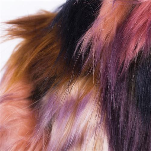 2014 зима теплая женская лиса шубу смешанные цвета стенд воротник природный фокс шуба куртка рукав верхней одежды C0864