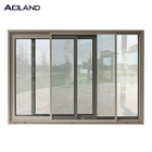 Window Aluminum Sliding Glass Door AS 2047 Aluminium Tempered Glass Sliding Window Design For Hotel