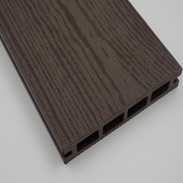 Black Plastic Composite Deck Board