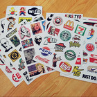 Sticker Factory Direct Sale Skateboard Snowboard Vinyl Sticker Bicycle Decal