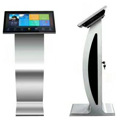 Фабричный напольный ЖК-дисплей 21,5 дюйма, киоск с экраном на заказ