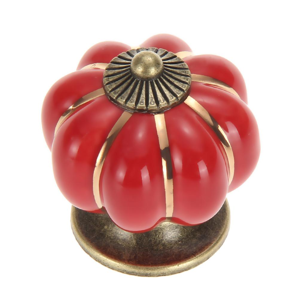 Red Kitchen Cabinet Door Knobs