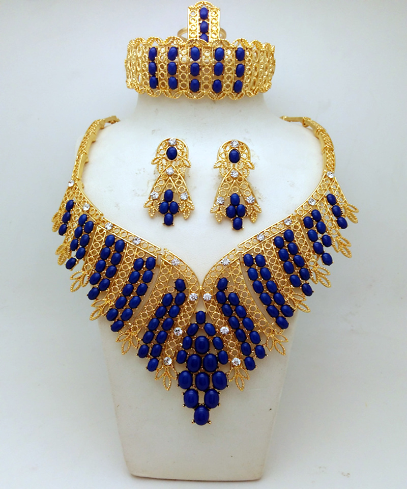 2016 Top Quality Fashion African Costume Jewelry Sets