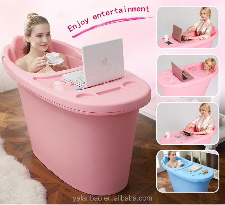 Bañera De Plástico Para Adultos Bañera Plegable Bañera De Hidromasaje Portátil Buy Bañera Portátil Para Adultos Product On Alibaba Com