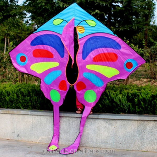 New design large butterfly flying kite from factory