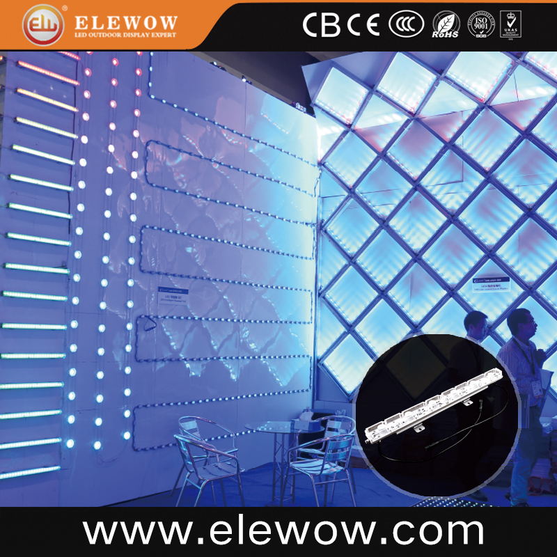 LED wall washer linear light for building facade/garden