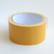 200 mic thick havana/yellow release paper double sided adhesive cloth round tape