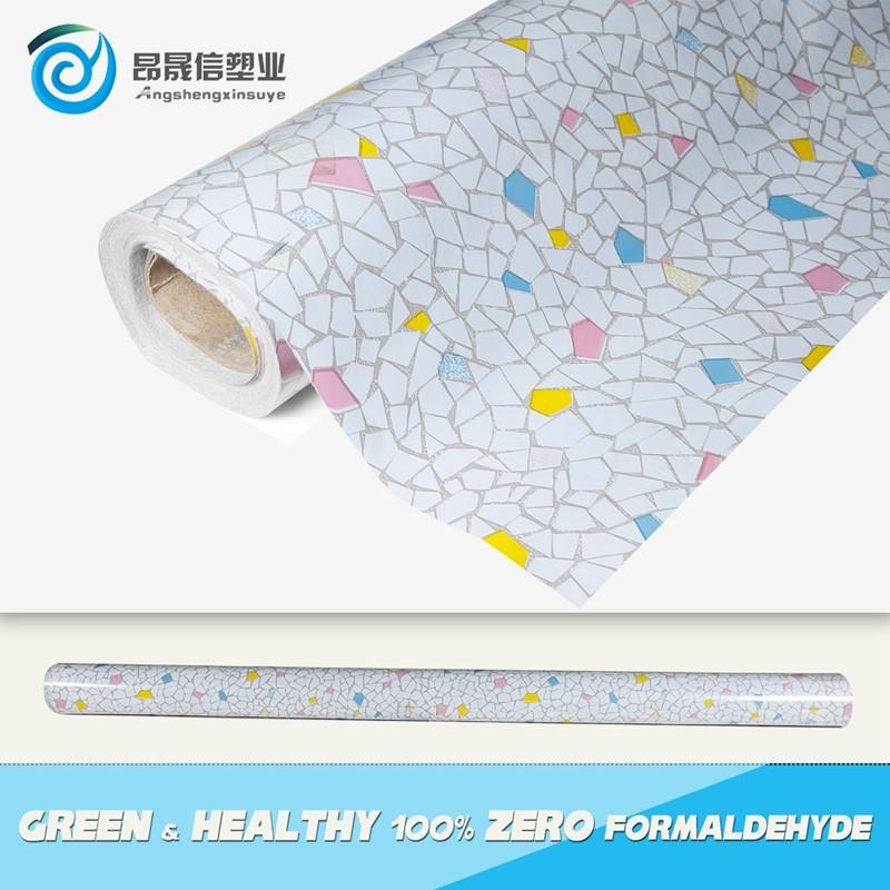 Высококачественные рулоны белого ПВХ для пола из линолеума с фетровой подложкой 130 г от производителя