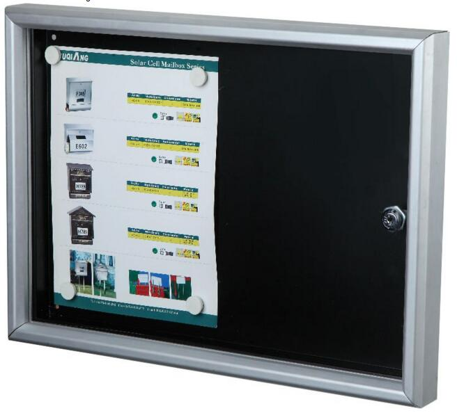 Movable Lockable Bulletin Boards Notice Board Memo Board - Yola WhiteBoard   szyola.net