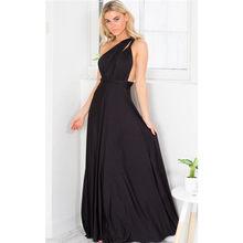 Женское длинное платье, длинное плиссированное платье в пол, для свадебной вечеринки(Китай)