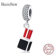 Оригинальный браслет Pandora Charms из стерлингового серебра 925 пробы, парфюм, циркониевые бусины для женщин, подарок на день Святого Валентина(Китай)