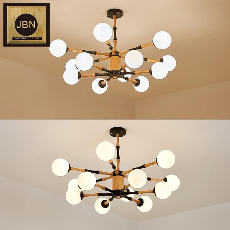 Новый дизайн, оптовая продажа, современная стеклянная люстра с пузырьками, подвесной светодиодный светильник